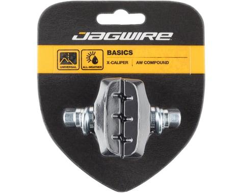 Jagwire Basics X-Age Molded Caliper Brake Pads (Black) (Pair)
