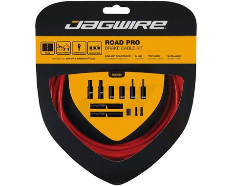 Jagwire Road Pro Brake Cable Kit (Red) (Stainless) (1500/2800mm) (2)