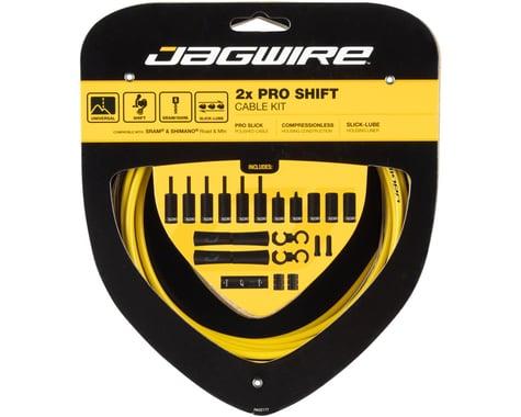 Jagwire Pro Shift Kit (Yellow) (SRAM/Shimano)