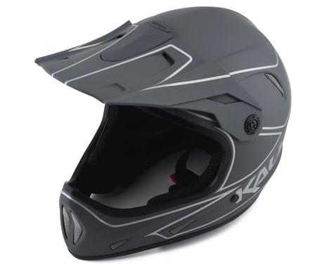 Kali Alpine Rage Full Face Helmet (Matte Grey/Silver) (XS)