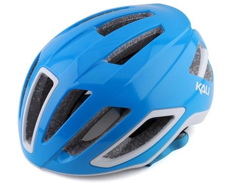 Kali Uno Road Helmet (Solid Gloss Blue/White) (S/M)