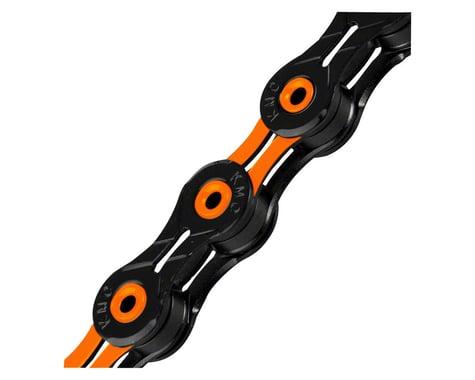 KMC X11SL DLC Super Light Chain (Black/Orange) (11 Speed) (116 Links)