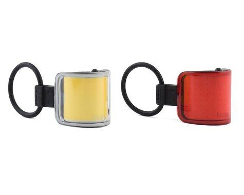 Knog Lil' Cobber Headlight & Tail Light Set (Black)