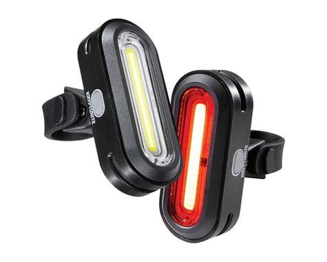 Kryptonite Avenue F-150/R-75 COB Headlight & Tail Light Set (Black)