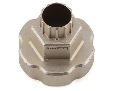 Lezyne External Bottom Bracket & Cassette Lockring Tool (Silver)