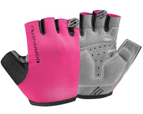 Louis Garneau JR Calory Youth Gloves (Magenta) (Youth S)