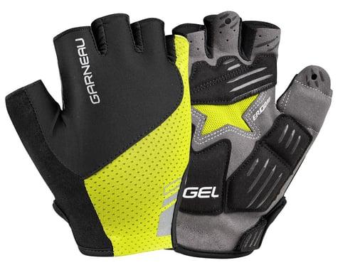 Louis Garneau Men's Nimbus Gel Short Finger Gloves (Bright Yellow) (S)