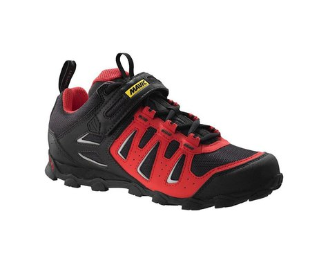 Mavic Crossride Elite Women's Mountain Shoes (Grey/Papaya/Black) (5 Uk (Us Womens 6.5))