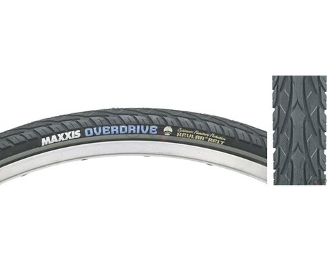 """Maxxis Overdrive City Tire (Black/Reflective) (27.5"""") (1.65"""")"""