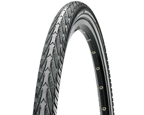 Maxxis Overdrive City Tire (Black/Reflective) (700c) (38mm)