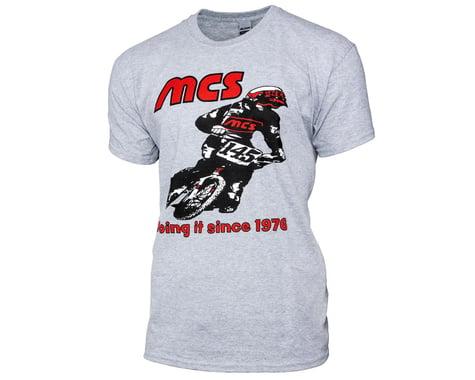 MCS Retro 1976 Short Sleeve T-Shirt (Grey) (M)