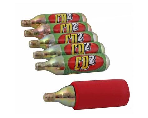 Mr Tuffy CO2 Cartridge Pack (w/ Neoprene Sleeve) (6 Pack) (16g)