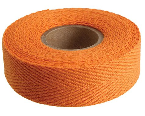 Newbaum's Cotton Cloth Handlebar Tape (Orange) (1)