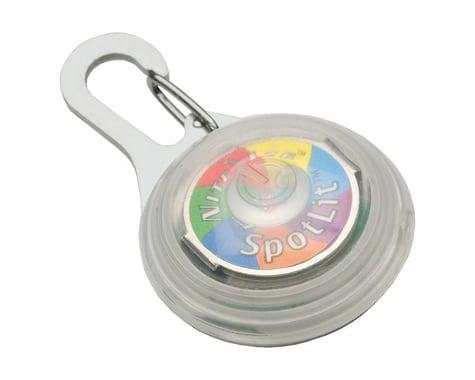 Nite Ize SpotLit Disc-O Safety Light (Multi-Color LED)