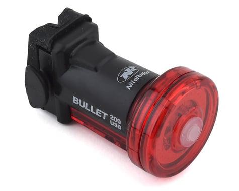 NiteRider Bullet 200 Bike Tail Light (Black)