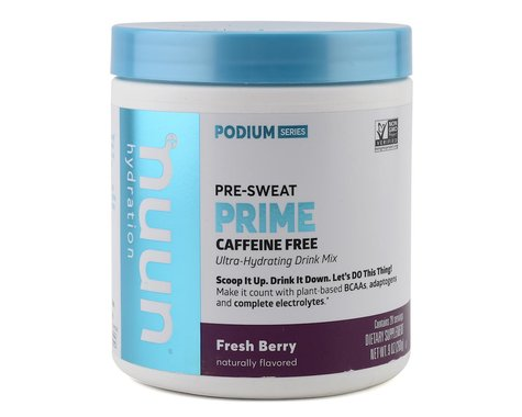 Nuun Podium Series Prime Pre-Workout Drink Mix (Fresh Berry) (1 | 9oz Container)