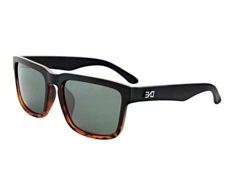 Optic Nerve ONE Mashup Sunglasses (Matte Black Demi Fade) (Grey Lens)