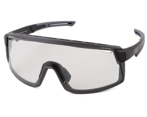 Optic Nerve Fixie Max Sunglasses (Matte Black/Aluminum Lens Rim) (Photochromatic Lens)