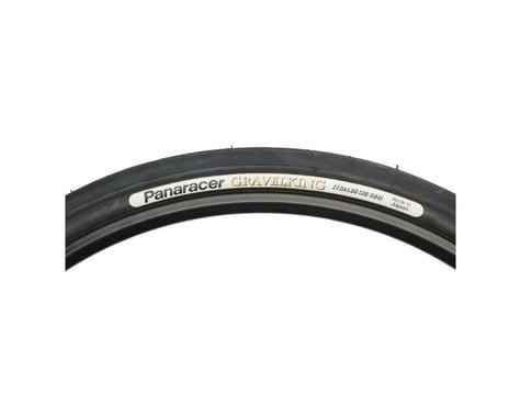 Panaracer Gravelking Slick Tubeless Gravel Tire (Black) (650b) (42mm)