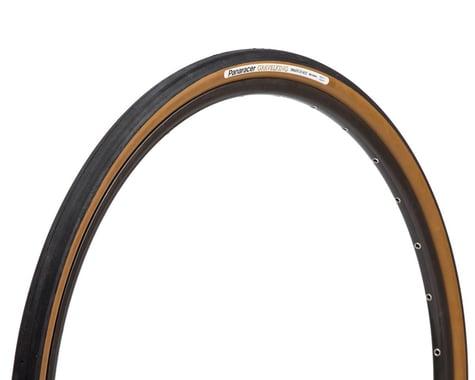 Panaracer Gravelking Slick Tubeless Gravel Tire (Black/Brown) (700c) (38mm)