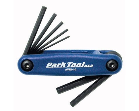 Park Tool AWS-10 Metric Fold Up Hex Wrench Set