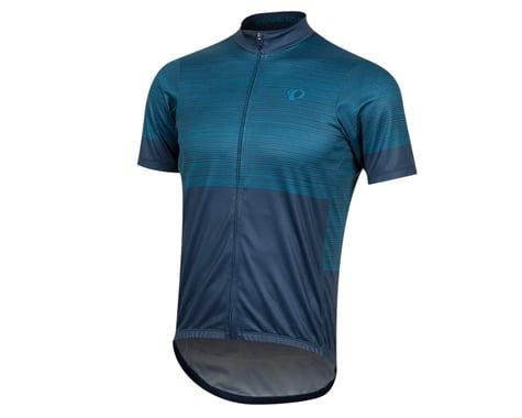 Pearl Izumi Select LTD Short Sleeve Jersey (Navy/Teal Stripes) (S)