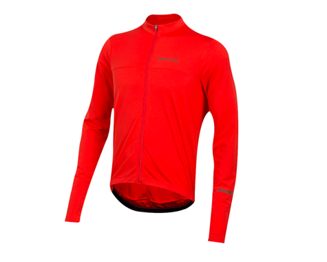 Pearl Izumi Quest Long Sleeve Jersey (Torch Red) (XS)