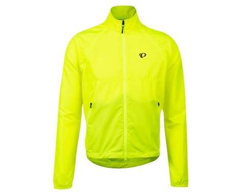 Pearl Izumi Quest Barrier Convertible Jacket (Screaming Yellow) (S)