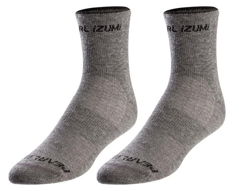 Pearl Izumi Merino Wool Socks (Smoked Pearl Core) (M)