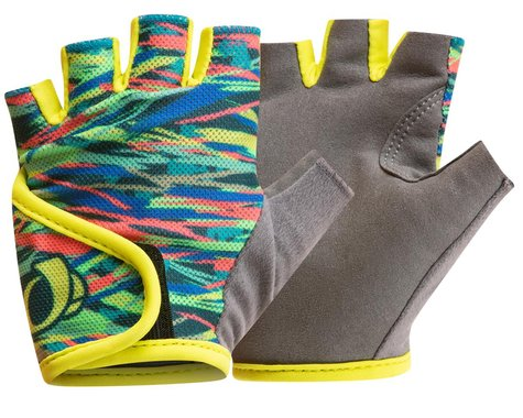 Pearl Izumi Kids Select Gloves (Bio Lime Ripper) (Youth S)