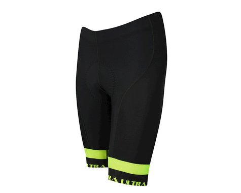 Performance Ultra Shorts (Black/Yellow) (S)