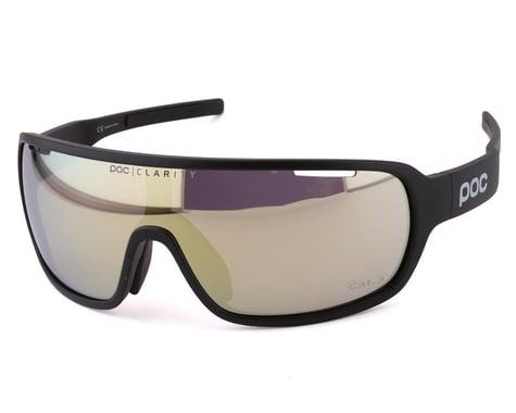 POC Do Blade Sunglasses (Uranium Black) (Gold Mirror Lens)