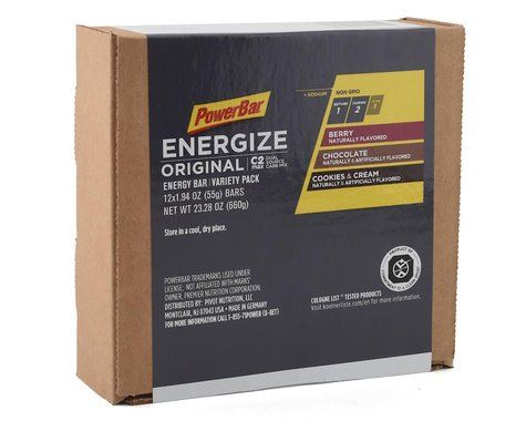 Powerbar Energize Original Bar (Variety Pack) (12 1.94oz Packets)