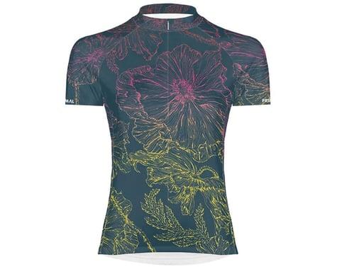 Primal Wear Women's Short Sleeve Jersey (Floral Sketch) (XL)