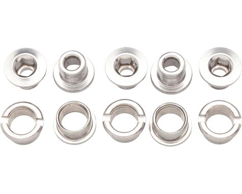 Problem Solvers Single Chainring Bolts (Silver) (Alloy)