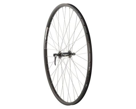 Quality Wheels Deore/DH19 Front Wheel (Black) (700c) (QR x 100mm) (Rim Brake)