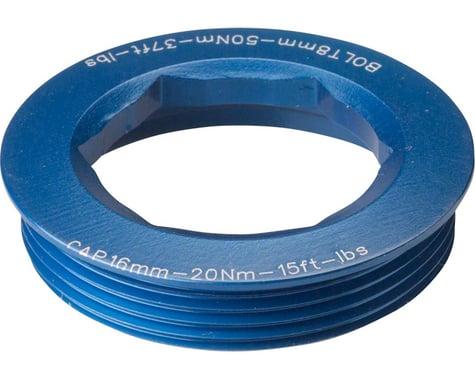 Race Face CINCH Puller Cap w/ Washer (Blue) (18mm) (XC/AM)