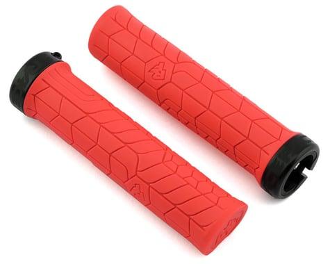Race Face Getta Grips (Lock-On) (Red/Black) (30mm)