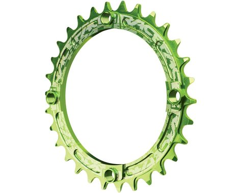 Race Face Narrow-Wide Chainring (Green) (104mm BCD) (Offset N/A) (30T)