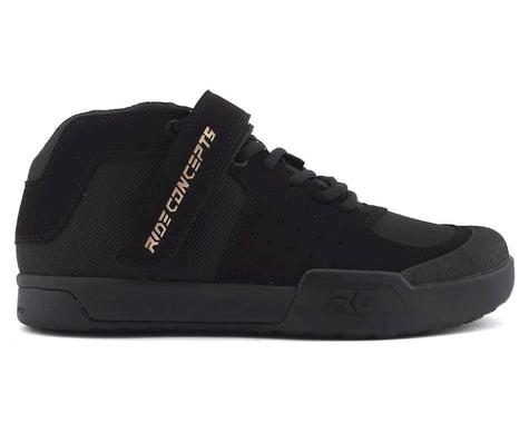 Ride Concepts Wildcat Women's Flat Pedal Shoe (Black/Gold) (5)