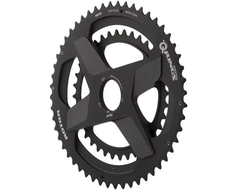 Rotor Aldhu Spidering Integrated Double Chainrings (Offset N/A) (52/36T)