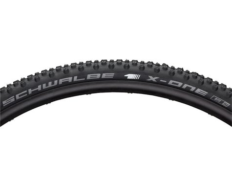 Schwalbe X-One Bite Tubeless Cross Tire (Black) (700c) (33mm)