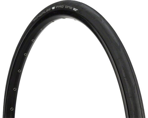 Schwalbe Pro One Road Tire (Black) (700c) (25mm)