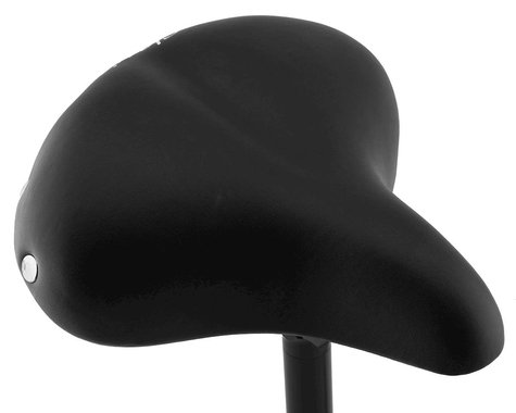 Serfas Classic Cruiser Saddle (Black) (Steel Rails) (248mm)