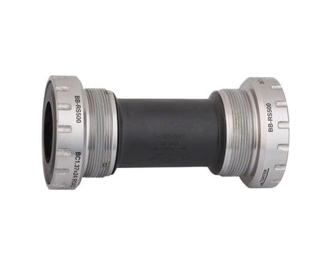 Shimano BB-RS500 Hollowtech II Threaded Bottom Bracket (Silver) (BSA) (68mm)