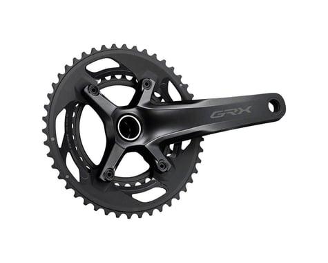 Shimano GRX FC-RX600 Crankset (Black) (2 x 10 Speed) (Hollowtech II) (165mm) (46/30T)