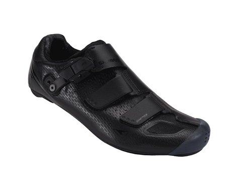 Shimano SH-RP9 Wide Road Shoes (Black)