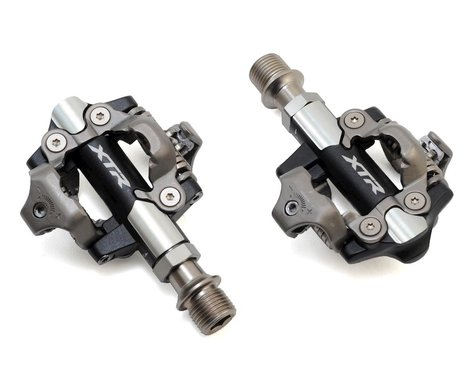 Shimano XTR PD-M9100 Race Pedals w/ Cleats (Short Axle) (52mm)