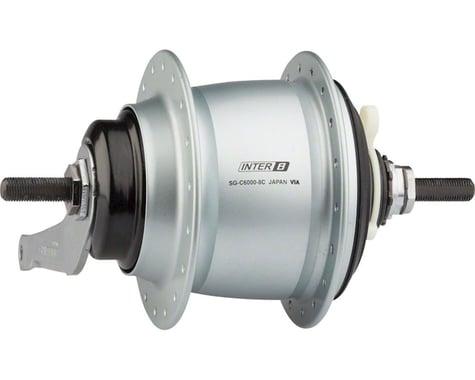 Shimano Nexus SG-C6000-8C Internally Geared Coaster Brake Rear Hub Kit (Silver) (36H)