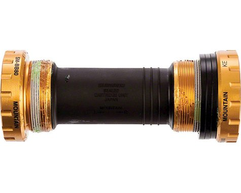 Shimano Saint BB80B Mountain Bottom Bracket (Gold) (BSA) (68/73mm)